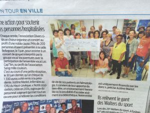article journal sud ouest concert
